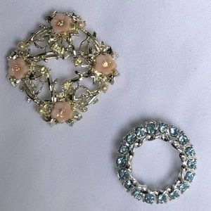 2 Vintage Brooches